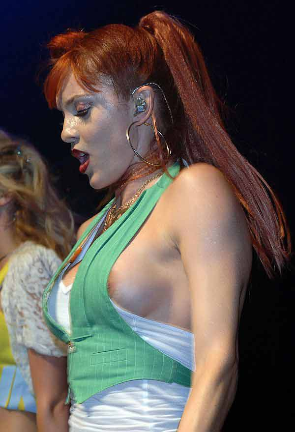 PussyCat Dolls sexy nipple slip photos